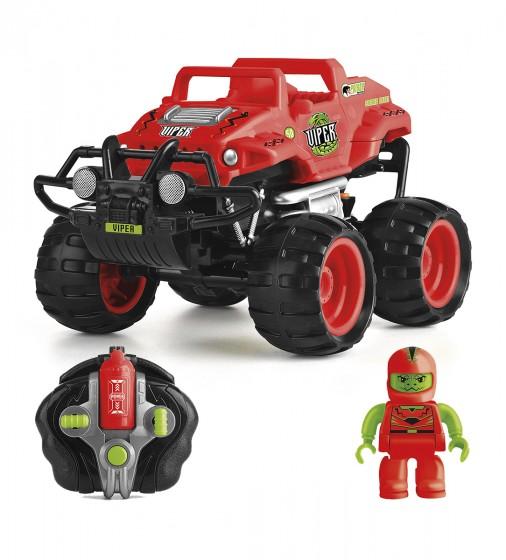 Автомобиль Monster Smash-Ups Crash Car на радиоуправлении Змей красный, аккум. 4.8V TY5873B-1 6900006487444