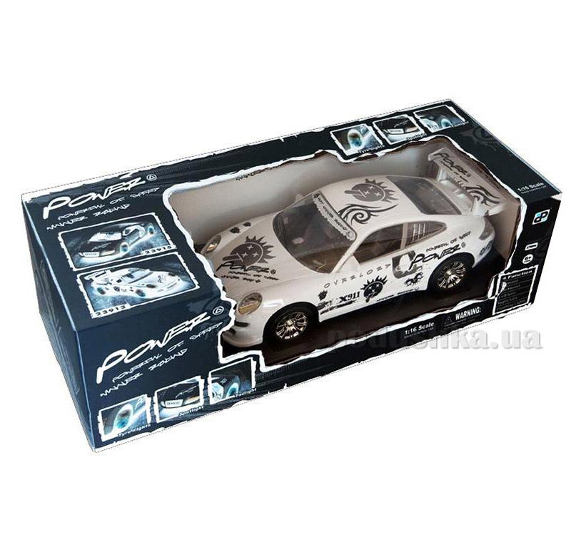 Автомобиль на радиоуправлении Black Power белый JP383