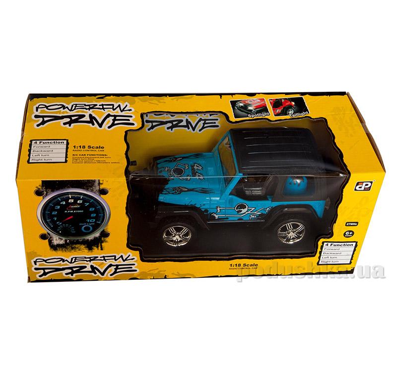 Автомобиль на радиоуправлении Desert Extreme синий JP383