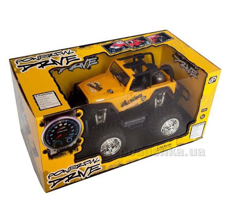 Автомобиль на радиоуправлении Desert желтый JP383