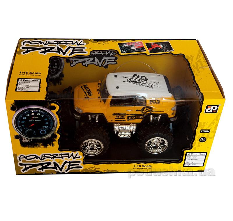 Автомобиль на радиоуправлении Extreme Pirate желтый JP383