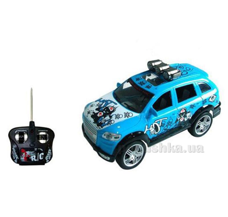 Автомобиль на радиоуправлении Hot Skull синий JP383
