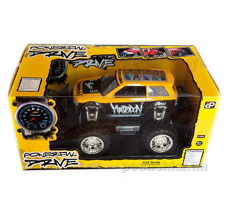 Автомобиль на радиоуправлении Mastodon желтый JP383