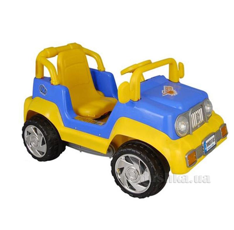 Автомобиль педальный Pilsan Тхундер джип 07-802