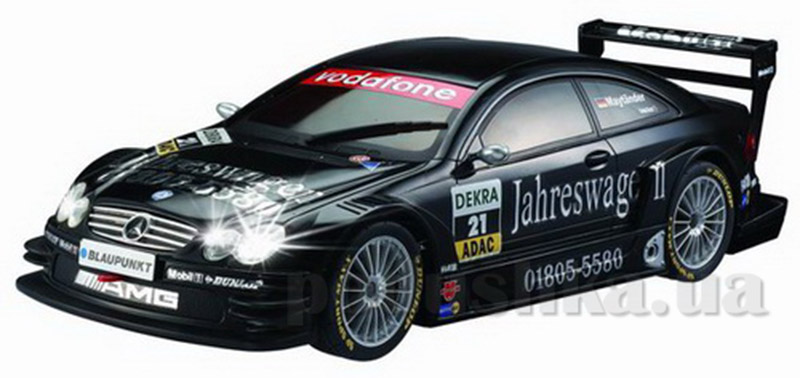 Автомобиль радиоуправляемый - AMG-Mercedes CLK DTM (черный, 1:28)