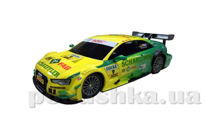 Автомобиль радиоуправляемый - AUDI A5 DTM, желтый