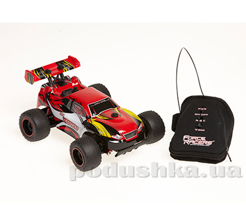 Автомобиль радиоуправляемый с пультом-перчаткой - WILD WOLF (красный, 1:24, USB-зарядка)