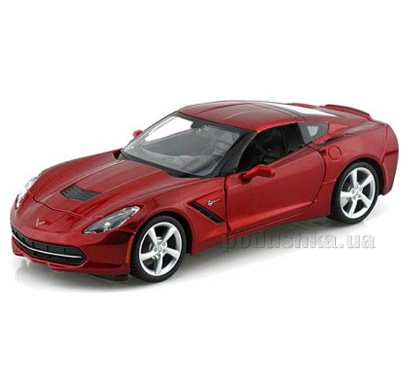 Автомодель (1:24) 2014 Corvette Stingray convertible 31505 met red MAISTO