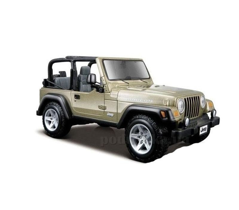 Автомодель 1:24 Jeep Wrangler Rubicon светло-зелёный Maisto