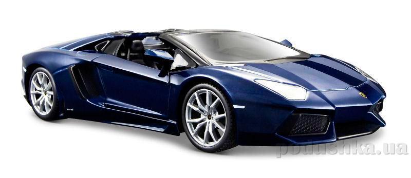 Автомодель 1:24 Lamborghini Aventador LP700-4 Roadster синий металлик Maisto