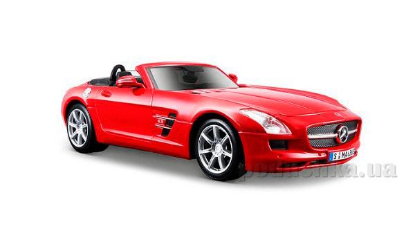 Автомодель 1:24 Mercedes-Benz SLS AMG Roadster красная Maisto