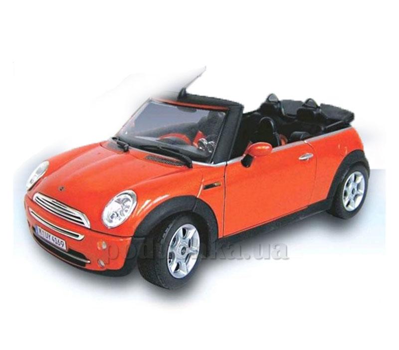 Автомодель 1:24 New Mini Cooper Cabriolet Cararama