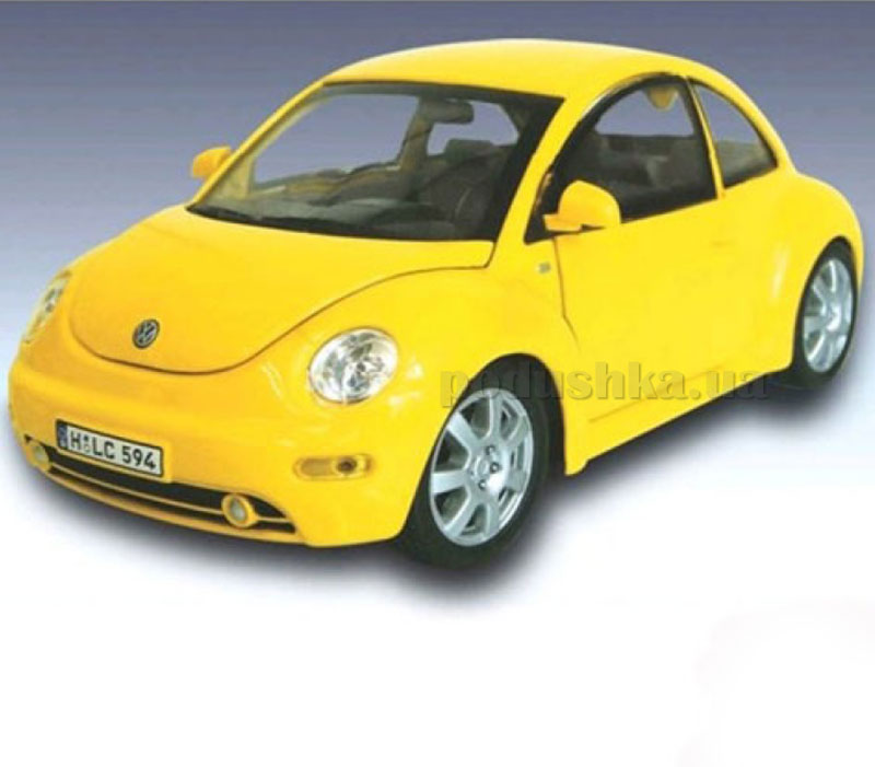 Автомодель 1:24 VW New Beetle Cararama