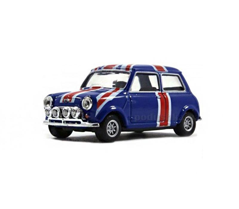 Автомодель 1:43 Mini Cooper Union Jack Cararama
