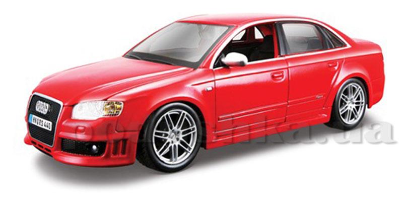 Автомодель - AUDI RS4 (ассорти красный, синий металлик, 1:24)