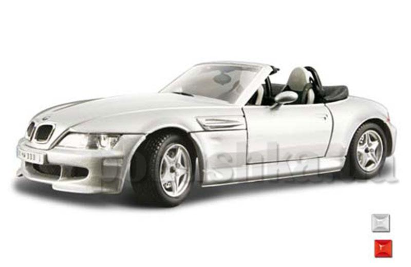 Автомодель - BMW M Roadster (ассорти красный, серебристый, 1:24)