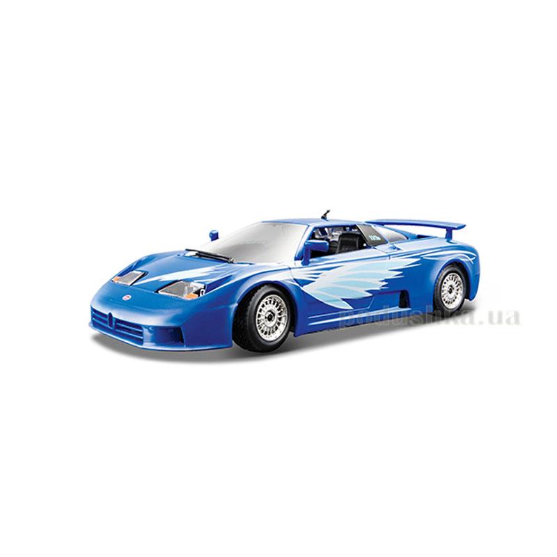 Автомодель - Bugatti EB 110 Bburago 18-22025 синий