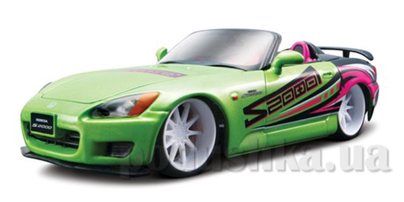 Автомодель - Honda S2000 (ассорти светло-зеленый, серебристый, 1:24)