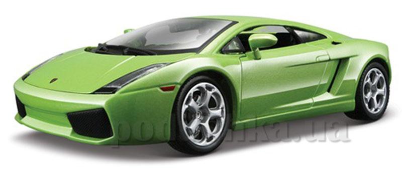 Автомодель - Lamborghini Gallardo (ассорти зеленый металлик, темно-красный металлик, 1:24)