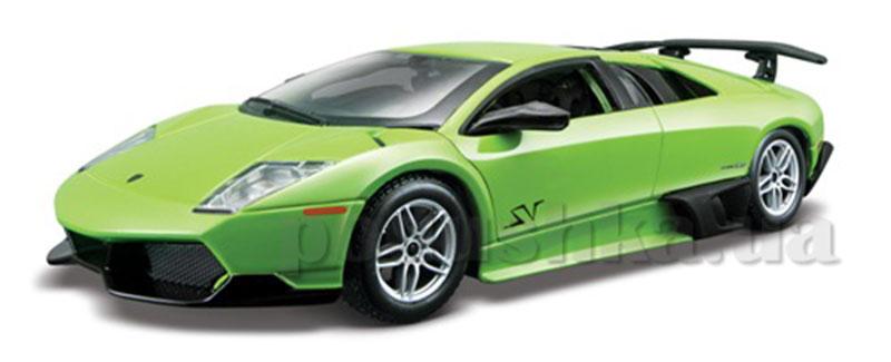 Автомодель - Lamborghini Murcielago LP670-4 SV ( ассорти зеленый, желтый металлик 1:24)