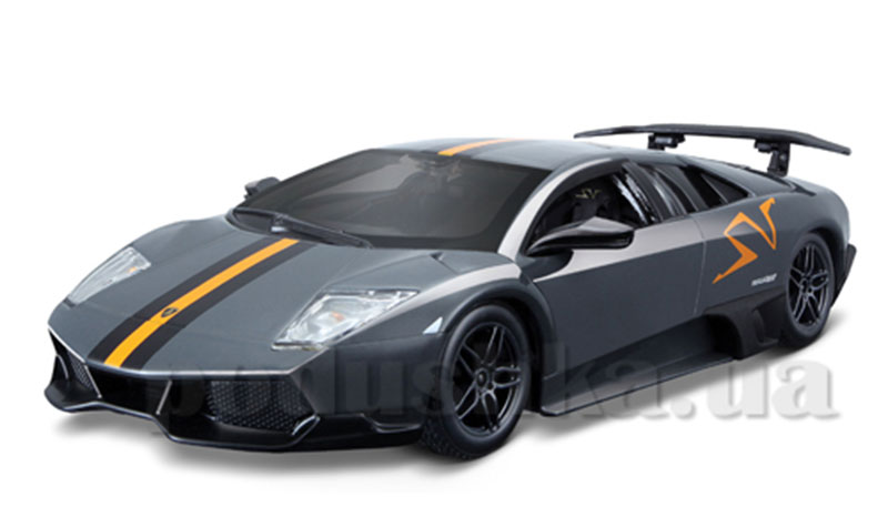 Автомодель - Lamborghini Murcielago LP 670-4 SV China Limited Edition (серый металлик, 1:24)