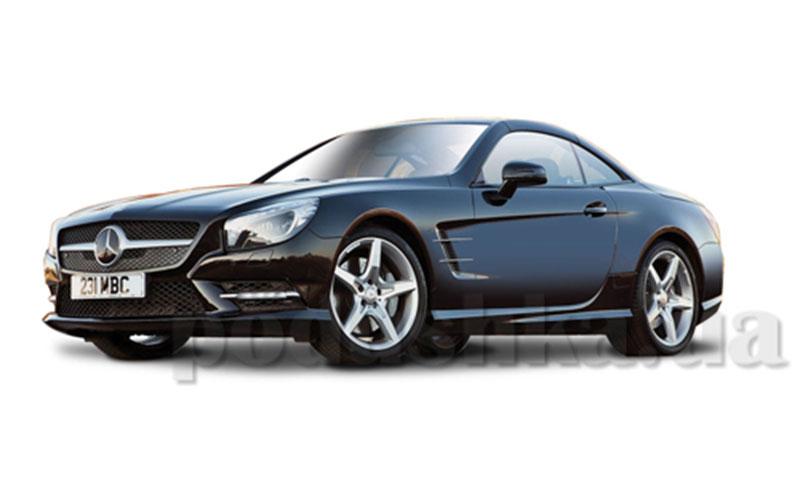 Автомодель - Mercedes-Benz SL 500 Hardtop (ассорти серый металлик, красный металлик, 1:24)