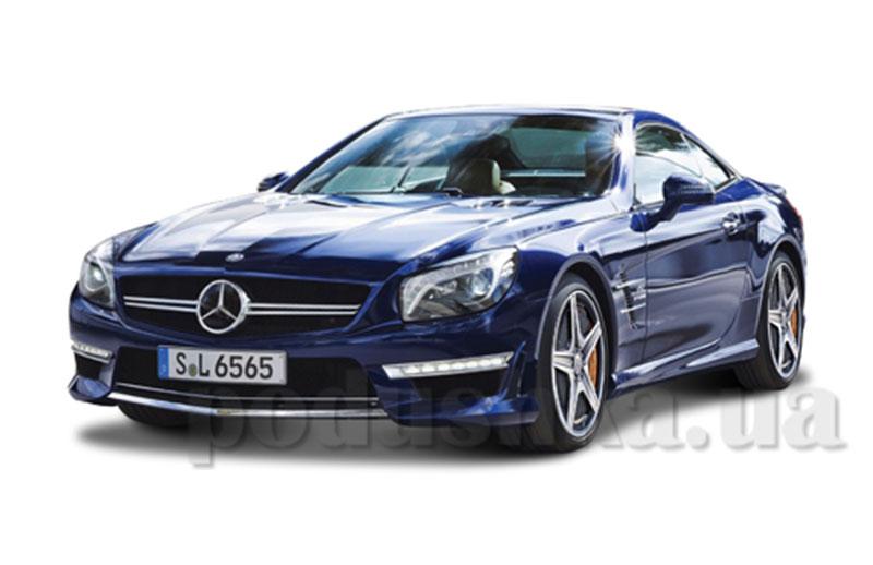 Автомодель - Mercedes-Benz SL 65 AMG Hardtop (ассорти белый металлик, черный металлик, 1:24)