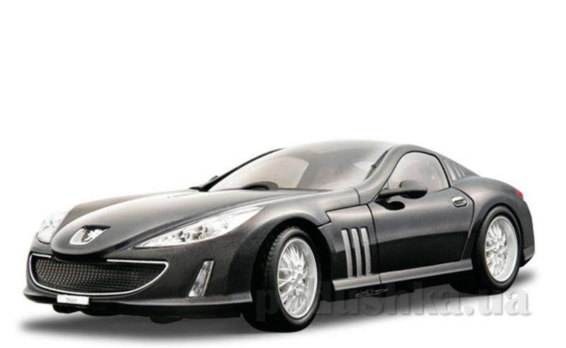 Автомодель - Peugeot 907 V12 (черный, 1:18)