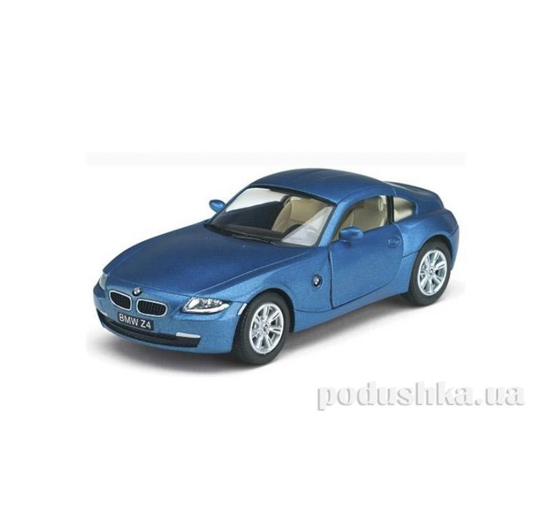 Автомодель BMW Z4 Coupe 1:32 Синий Kinsmart KT5318W