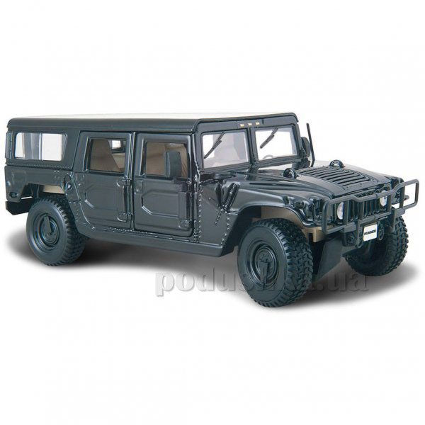 Автомодель Hummer 4 Door Wagon 31958 black Maisto