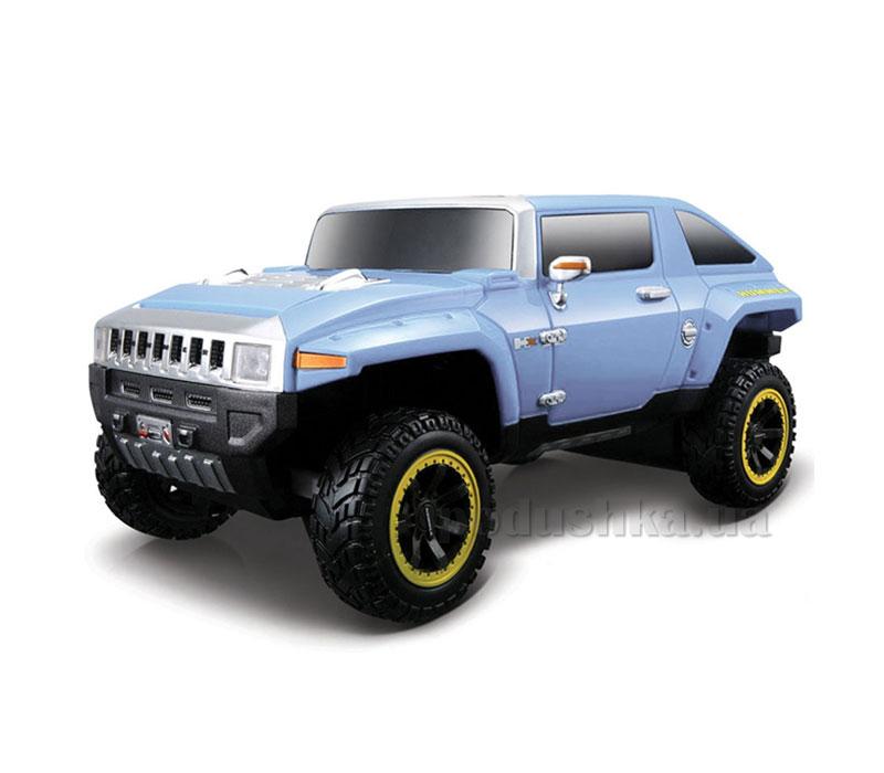 Автомодель на радиоуправлении (1:24) 2008 Hummer HX Concept голубой 81053 lt blue Maisto