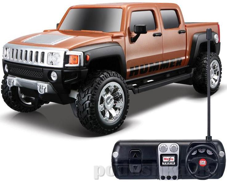 Автомодель на радиоуправлении 2008 Hummer H3T Concept коричневий