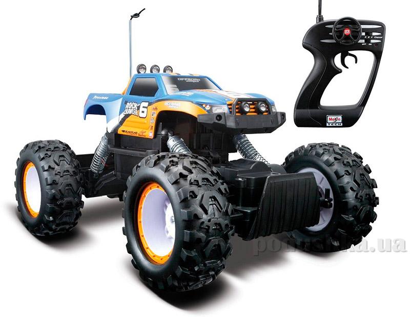 Автомодель на радиоуправлении Rock Crawler 4х4 аккумулятор 6v + 1х9v Maisto 81152 blue