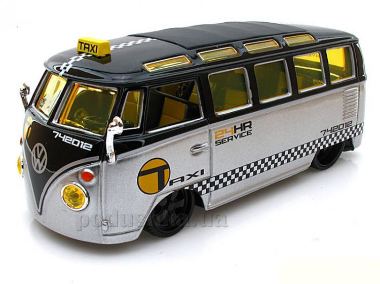Автомодель Volkswagen Van Samba 31364 silver black Maisto