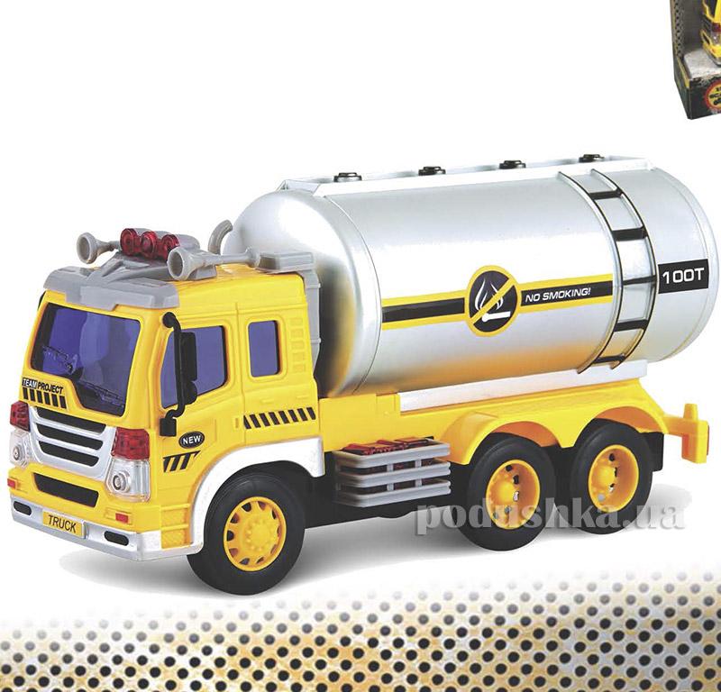 Автоцистерна Junior Trucker 28 см со светом и звуком Dave Toy 33022