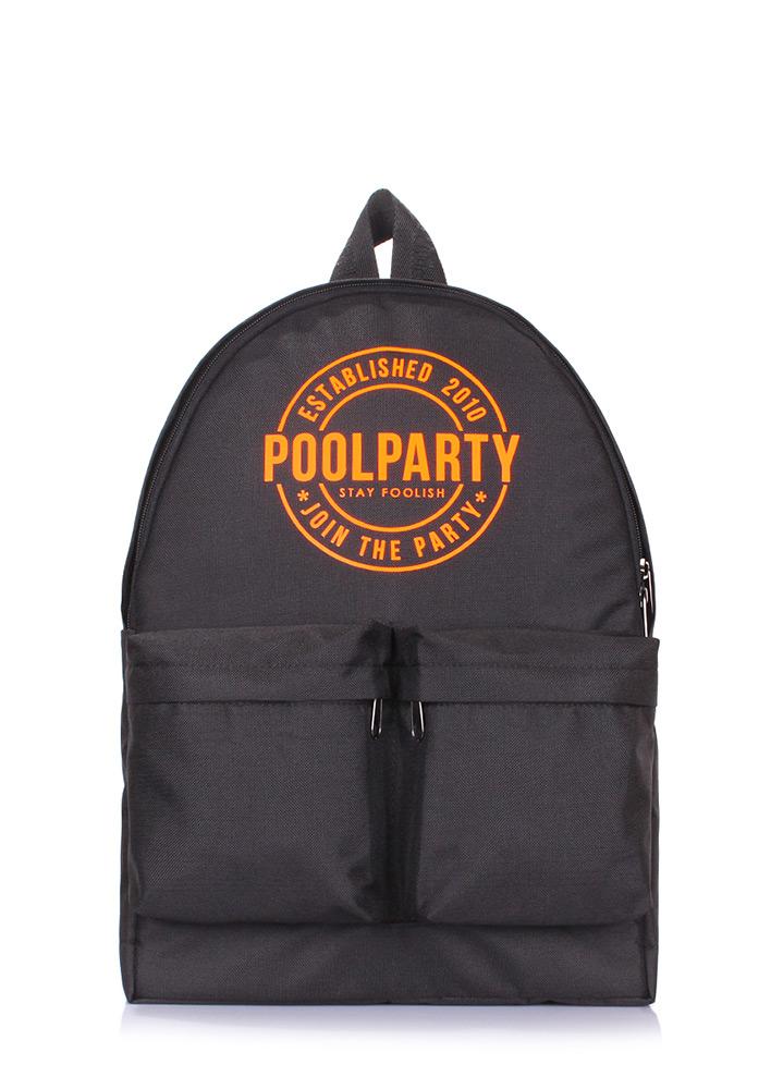 Рюкзак Poolparty Rocket черный