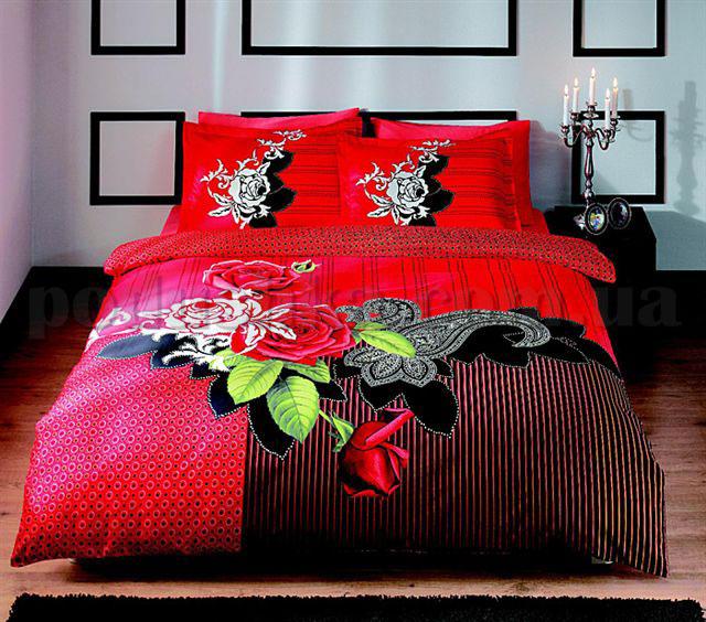 Постельное белье TAC Avalon красный
