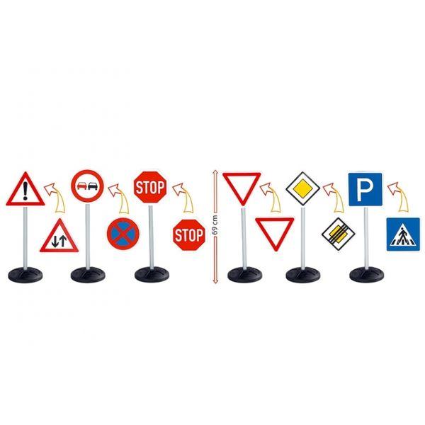 Большой набор Дорожные знаки 69 см