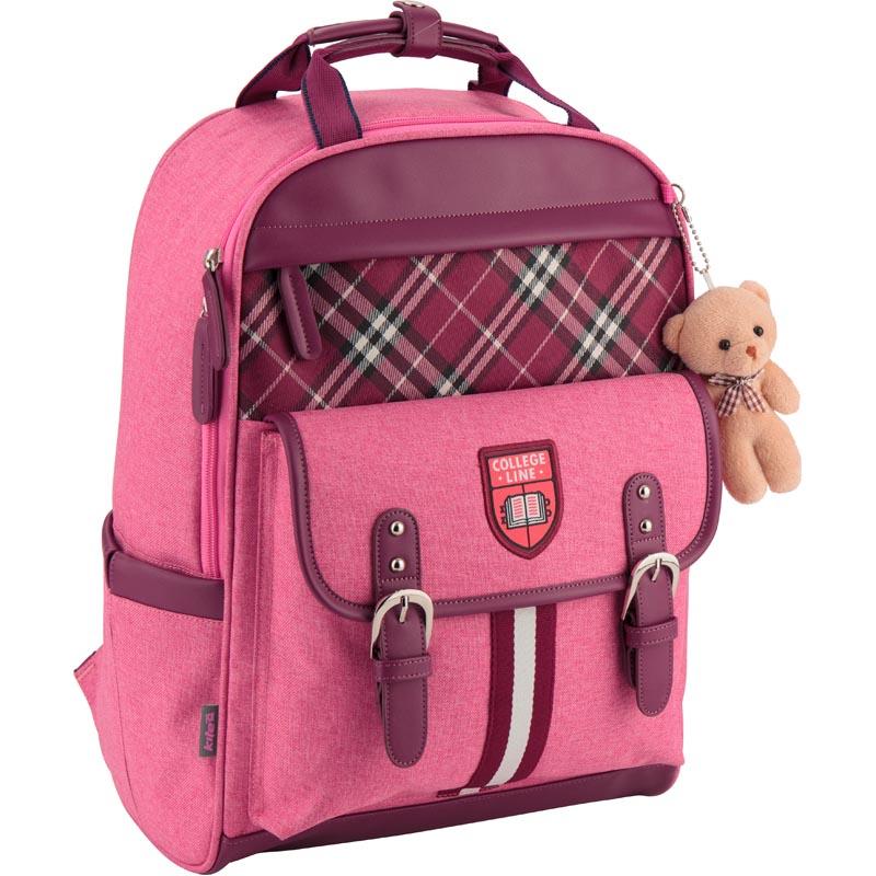 Рюкзак школьный Kite Сollege line K18-737M-1 розовый