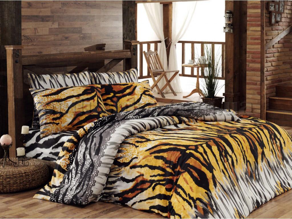 Постельное белье Romeo soft Tiger