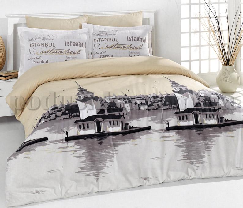 Постельное белье Romeo soft Istanbul бежевый