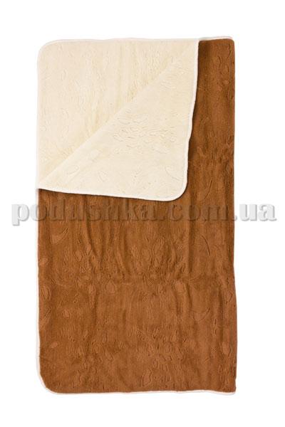 Одеяло шерстяное Cafissi Portofino бело-бежевое