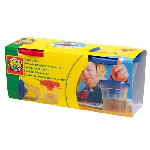 Стаканчики для мытья кисточек - Непроливайка 2 шт.