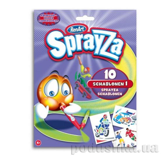 Набор трафаретов Sprayza Boys Renart ST2215UK(UA)