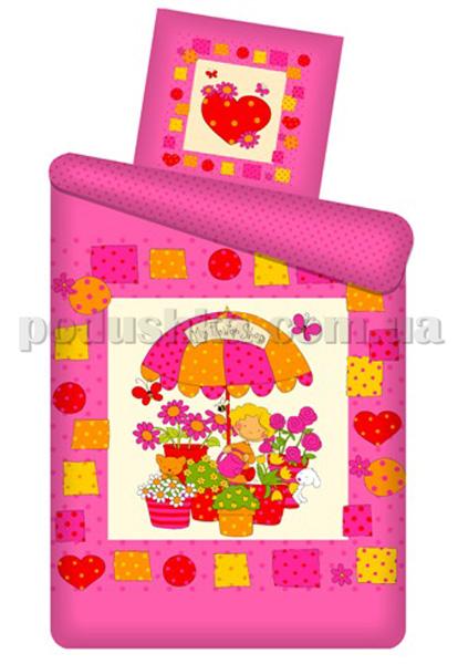 Постельное белье панно Цветочный магазин