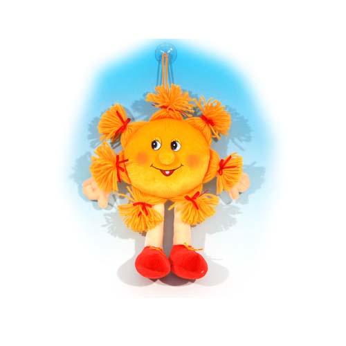 Мягкая игрушка - Солнышко с хвостиками музыкальное, 24 см