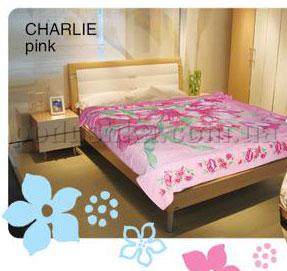 Простынь махровая Le Vele Charlie Pink