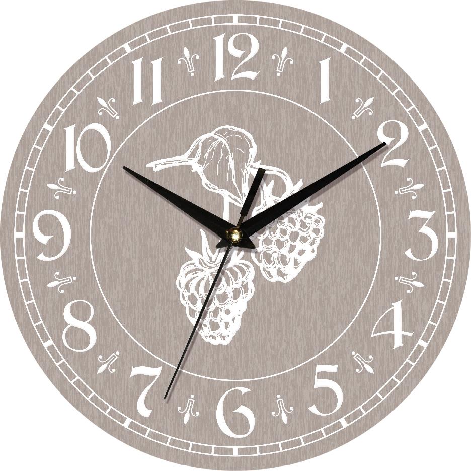 Часы настенные ЮТА Country 301x301x30мм С09