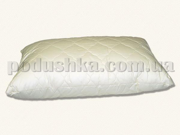 Подушка бамбуковая Arya стёганая кремовая