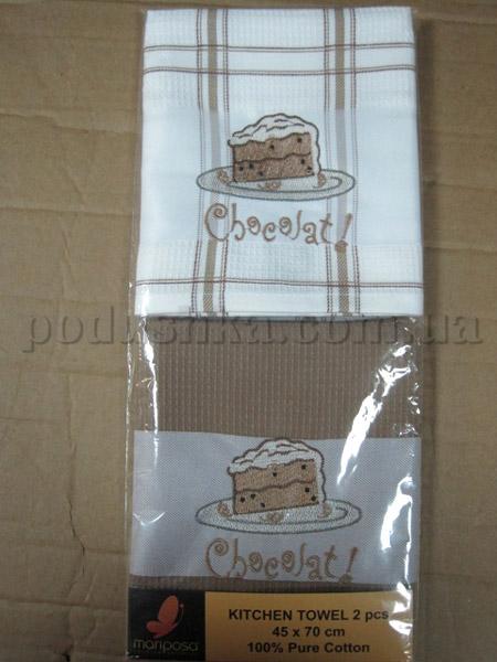 Набор вафельных кухонных полотенец Mariposa Тортик